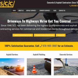 Spalding Concrete Company Roswell Georgia Concrete And Paving Contractor